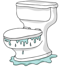 An image of an overflowing toilet.