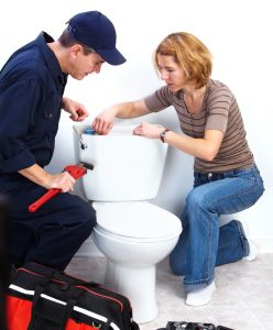 fixing running toilet