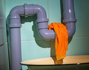 water leak check